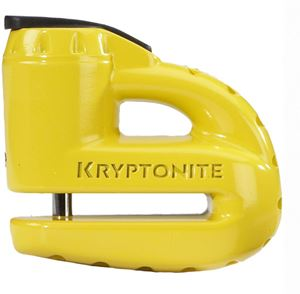 Picture of Keeper 5-S disc lock - with reminder cable - yellow