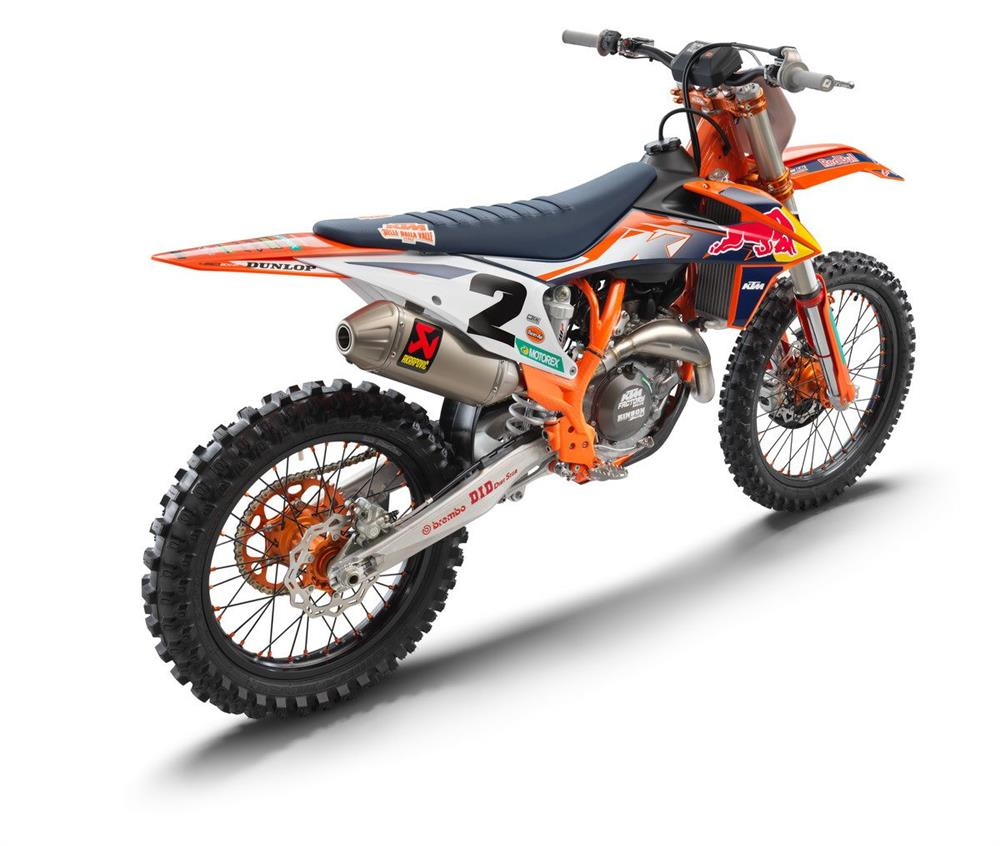 2021 KTM 450 SX-F Factory Edition Rear