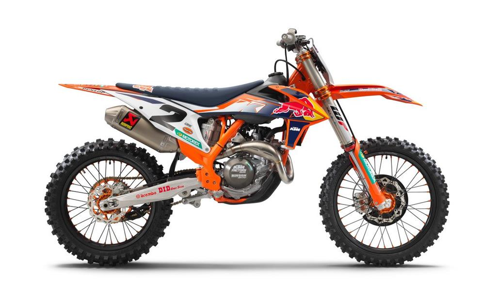 KTM 450 SX-F Factory Edition Right