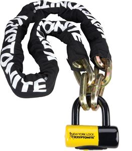 Picture of New York Fahgettaboudit chain andchain and NY disc lock 150cm